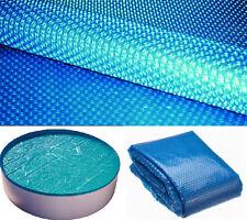 400 / 200 µm SOLARPLANE SOLARFOLIE POOL-ABDECKUNG RUND OVAL ECKIG WÄRMEPLANE my