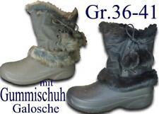 Gummistiefel Stiefelette Gummischuhe NEU Galosche Winterstiefel @25949