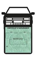 Porte étui vignette assurance auto Corrado Volkswagen  Stickers rétro
