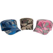 RESULT HEADWEAR URBAN CAMO CAP - CAMOUFLAGE ARMY HAT