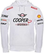 FELPA MINI COOPER D JOHN WORKS challange maglietta polo tshirt maglia rally alfa