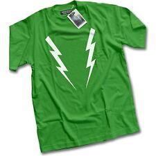 NUEVO Electro Flash Lightning Para hombre Verde Camiseta | XS - 3XL