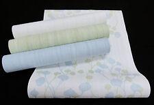 "13554-) Vliestapete ""Bred&Butter"" edle Design Tapete zum Kombinieren grün + blau"