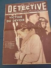 Détective 1952 SALON DE PROVENCE BAIN BRETAGNE KENYA