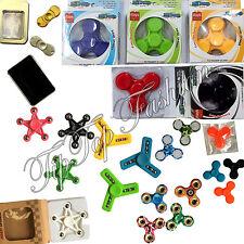 Finger Spinner Fidget Hand Focus Ultimate Spin Steel EDC Bearing Stress Toys UK