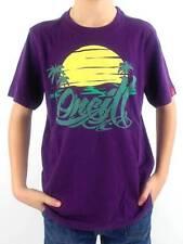 O'Neill Camiseta Camisa manga corta Sunset lila Estampado Cuello Redondo NUEVO!