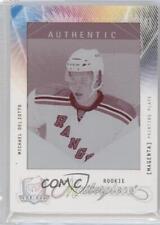 2009 Upper Deck The Cup #MAS-134 Michael Del Zotto New York Rangers Hockey Card