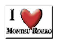 CALAMITA PIEMONTE FRIDGE MAGNET MAGNETE SOUVENIR LOVE MONTEU ROERO (CN)