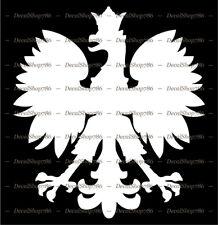 Polish Eagle Symbol / Mascot / Coat of Arms - Vinyl Die-Cut Peel N' Stick Decal