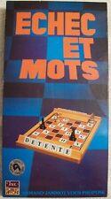 Jeu de société Echec et mots - Robert Laffont - Armand Jammot - 1979