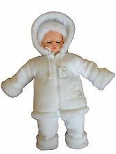 Winterjacke Kapuzenjacke Hose Fell Taufe Baby Taufanzug Festanzug Jacke warm SET