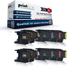 10x Alternativa Cartuchos de tinta para Brother lc-1240 XL patronen-office