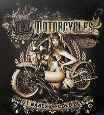 T-Shirt #586 OLD MOTORCYCLES, HOT ROD V8 PIN UP Rockabilly 50er US-Car Musclecar
