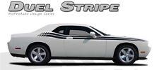 Dual Side Body Line Strobe 3M Stripe Graphic Decal RT 2015-2016 Dodge Challenger