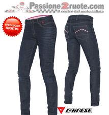 pantalone donna Dainese Belleville Slim lady denim medio jeans moto pant