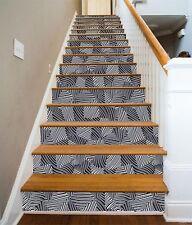 3D Grid Pattern 1 Stair Risers Decoration Photo Mural Vinyl Decal Wallpaper CA