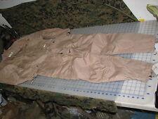 coveralls SMALL REG aromatic US military NOS tan desert CVC combat crewmans FR