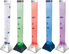 LED cambio de color Torre de Suelo de Burbuja Pescado lava Dormitorio De Niños Lámpara Luz sensorial