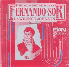 FERNANDO SOR Solo Guitar Works L. Johnson US Press CD