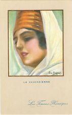 """La Russie, caucasienne femme, """"La Caucasienne"""", pour 1910/20"""