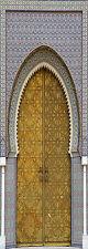 cartel Puerta decoración trampantojo l'ojo oriental ref 061 - 4 dimensiones