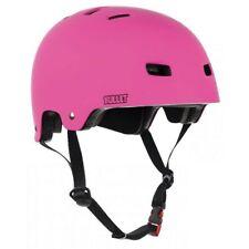 Scooter/Roller Derby/BMX/Skate Helmet. Bullet T35 Matt Pink Grom Kids Helmet.