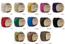 1MM Polished Hemp Twine Ball Hemptique Cord Macrame Craft String 20lbs - 400ft