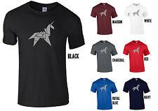 Origami Unicornio T-Shirt Bladerunner Blade Runner Unisex/Damas replicante Tatuaje