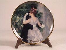 Goebel-Artis Orbis 'Danse en Ville' Dance Plate With Holder Renoir-#126562 NIB!