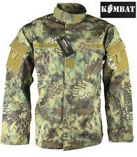 Para Hombre Combate Del Ejército Táctico Militar Camisa Acu excedente Nuevo Chaqueta Top Selva Blusón