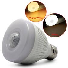 E27 5W Night Bulb PIR Infrared Motion Sensor Detection LED Lamp Light NEW
