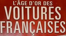 FASCICULE L'AGE D'OR DES VOITURES FRANCAISES DUO HO 1/87 sans miniature au choix