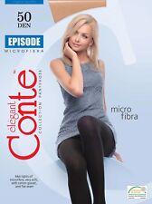 CONTE Tights Episode 50 Den | Microfibre Warm Winter Pantyhose | FREE Shipping