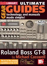 ROLAND BOSS GT-8 GUITAR EFFECT PROCESSOR *NEW* DVD