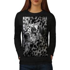 Dalmatian Dog Face Women Long Sleeve T-shirt NEW | Wellcoda