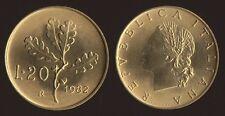20 LIRE 1982 RAMO DI QUERCIA - ITALIA FDC FIOR DI CONIO