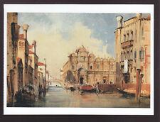 JULES ROMAIN JOYANT Scuola di San Marco VENICE ITALY ART PAINTING POSTCARD