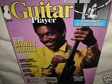 GUITAR PLAYER October 1985 Stanley Jordan RECORD EXC+!!