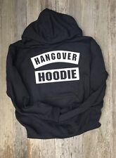 Hangover HOODIE Hoody Uni-sex sizing Soft Comfortable Black Or Grey FUN!