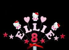HELLO KITTY compleanno / festa cake topper