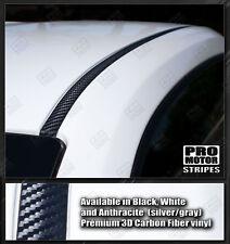 Chevrolet Camaro 2010-2015 Roof Trim Overlay Stripes Decals (Choose Color)