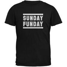 Sunday Funday Black Adult T-Shirt