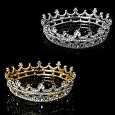 QA_ BRIDAL CROWN WEDDING PROM QUEEN TIARA AND CROWN HAIR JEWELRY ACCESSORIES N
