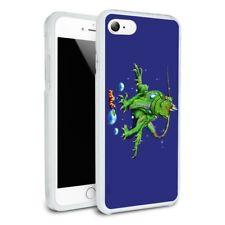 Rainforest Iguana and Caterpillar Hybrid Rubber Bumper iPhone 7 and 7 Plus