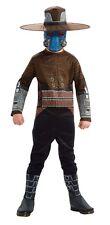Boys Cad Bane Costume Star Wars Blue Kids Childs Mask Clone Wars Starwars NEW