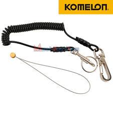 Komelon Fall Protection Safety Code Coil Tools Holder Lanyards Carabina Keychain