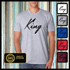 King Tshirt, Hubby Shirt, Wifey T-shirt, Husband and Wife Shirt