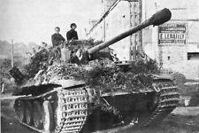 WW2 -  Char allemand de la 1° Division Panzer  à Falaise