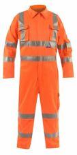 Bodyguard Workwear Hi Vis Orange Rail Premium Coveralls Overalls Suit L3 BGC1