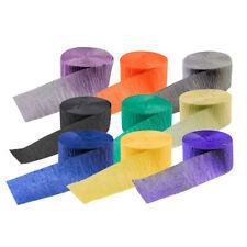 papier crêpé Guirlandes papier Serpentin crêpe 4,4 x 24,7 cm ruban crépon